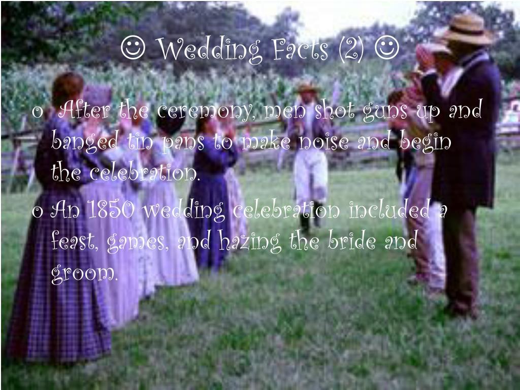  Wedding Facts (2) 