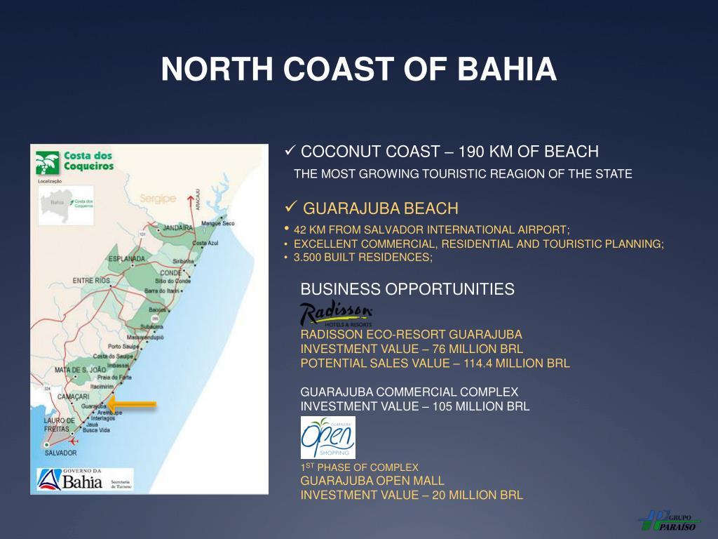 NORTH COAST OF BAHIA