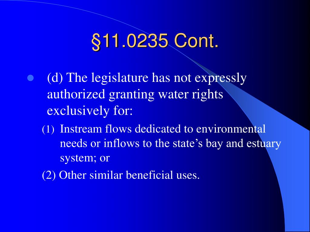 §11.0235 Cont.