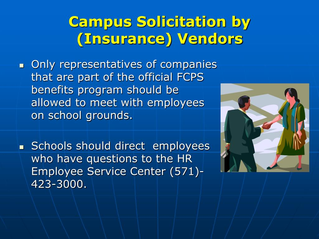 Campus Solicitation by (Insurance) Vendors