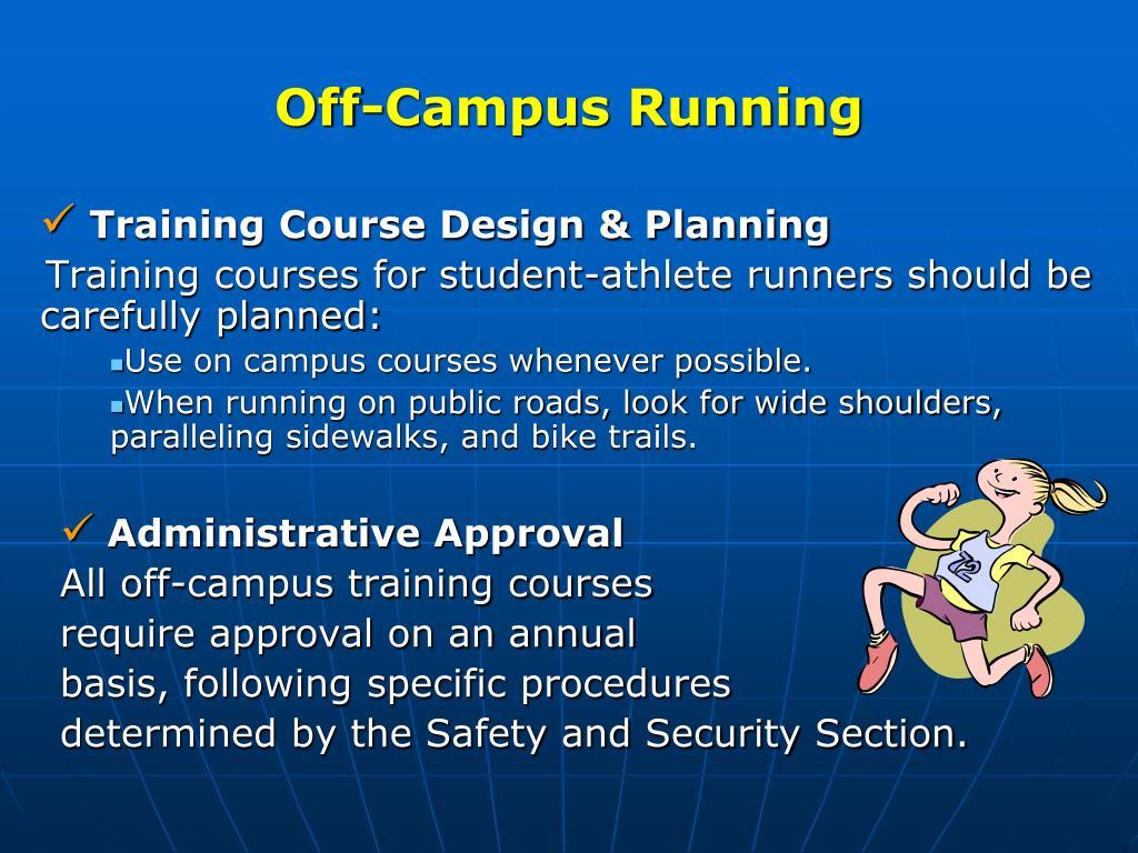 Off-Campus Running