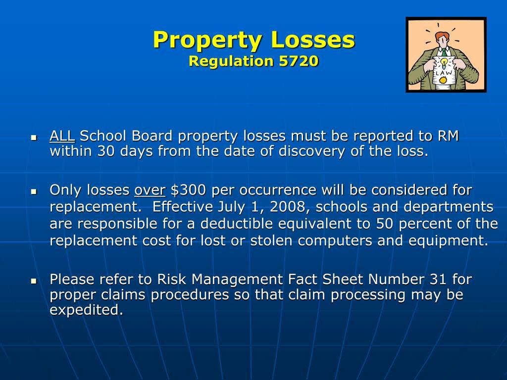 Property Losses