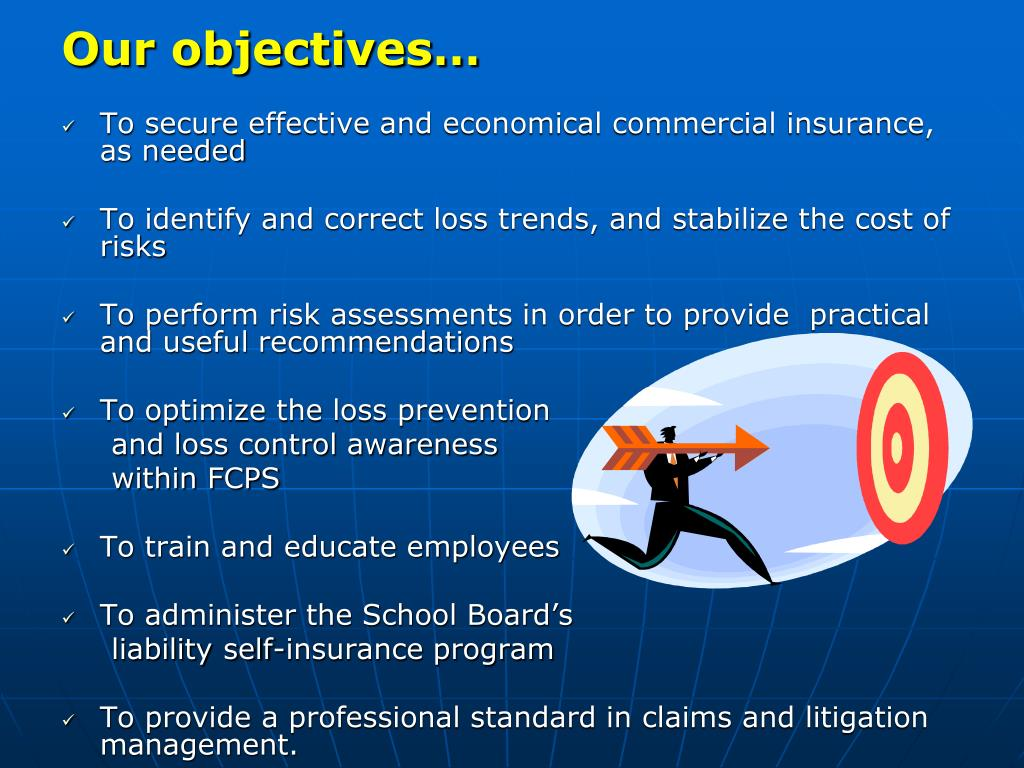 Our objectives…