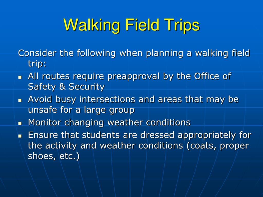 Walking Field Trips