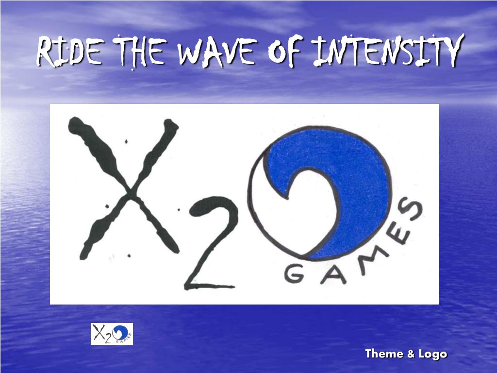 RIDE THE WAVE OF INTENSITY