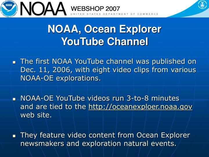 NOAA, Ocean Explorer