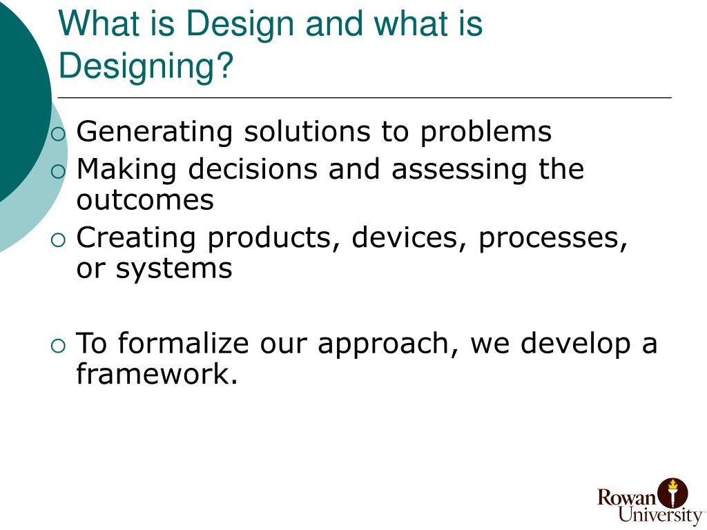 What is Design and what is Designing?