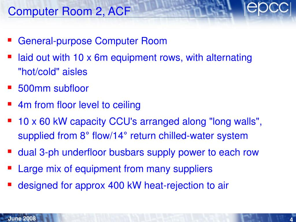 Computer Room 2, ACF