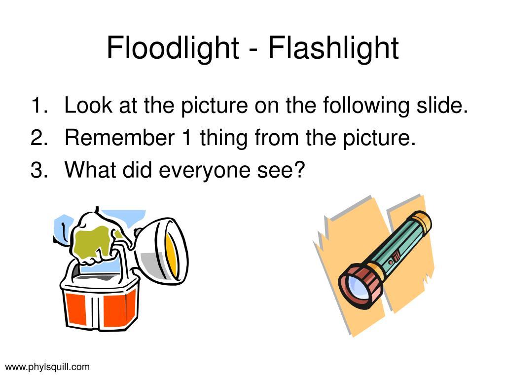 Floodlight - Flashlight
