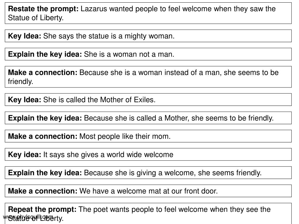 Restate the prompt: