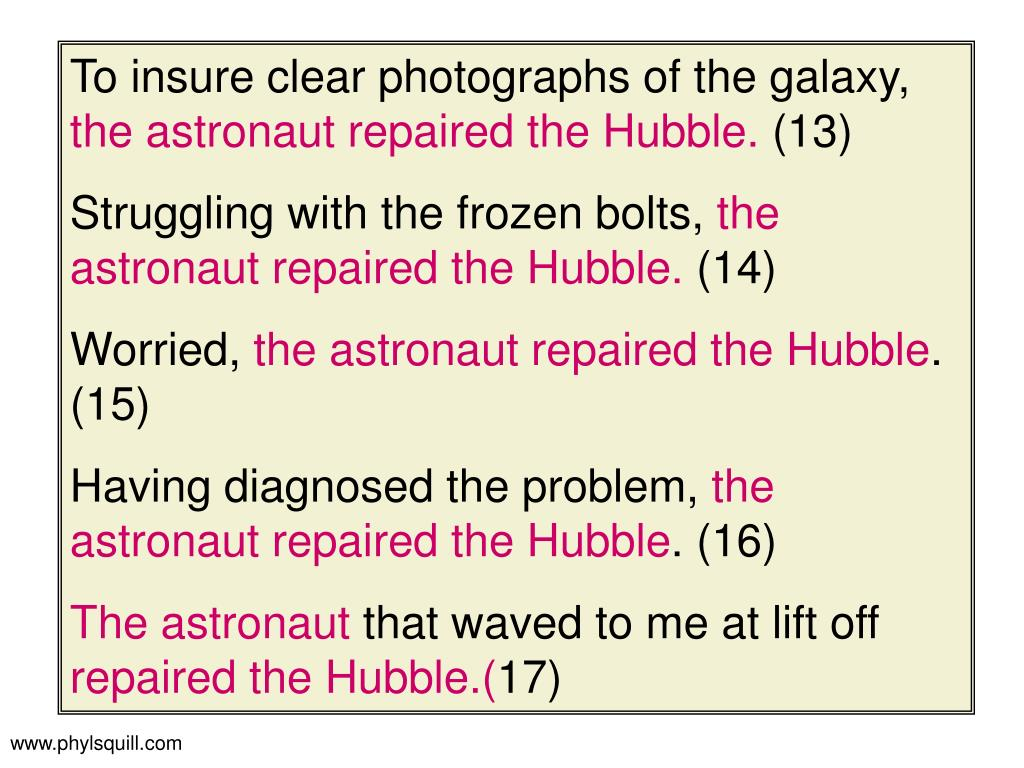 To insure clear photographs of the galaxy,