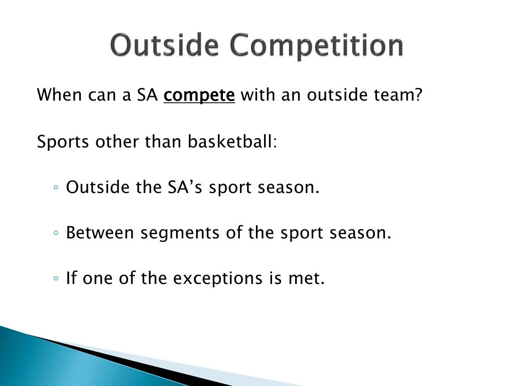 Outside Competition