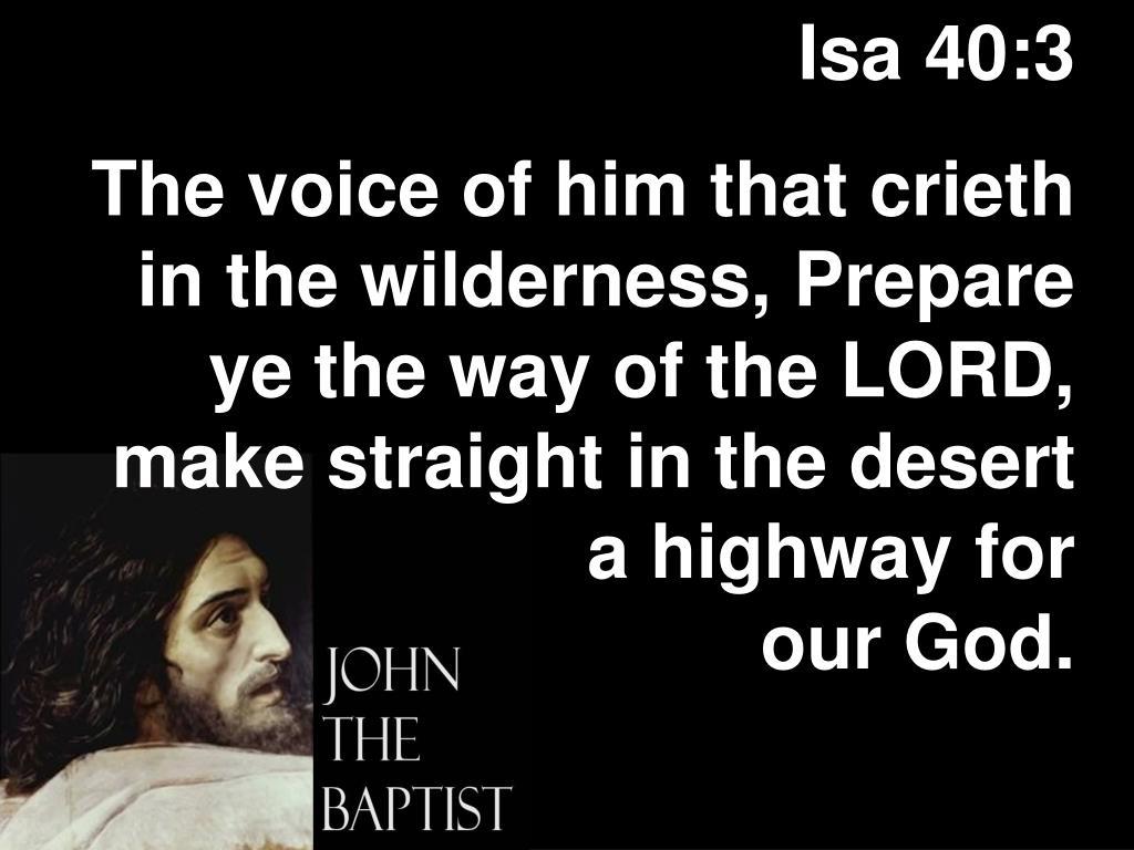 Isa 40:3