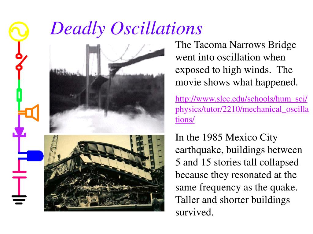 Deadly Oscillations