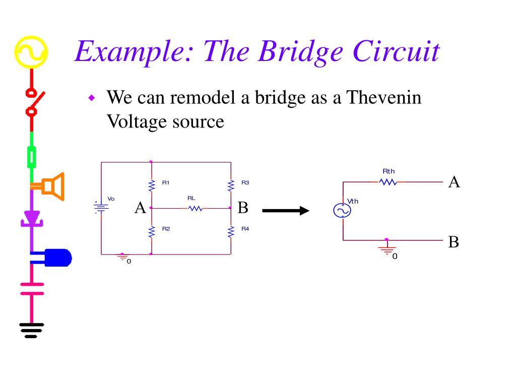 Example: The Bridge Circuit