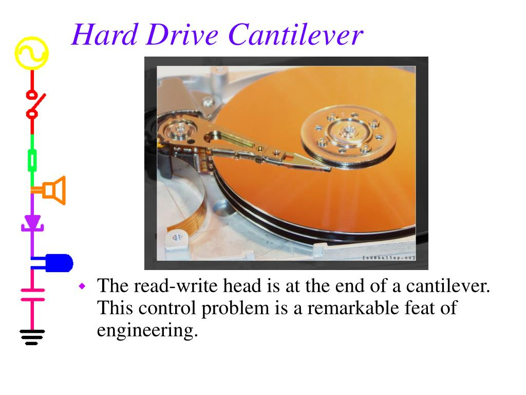 Hard Drive Cantilever