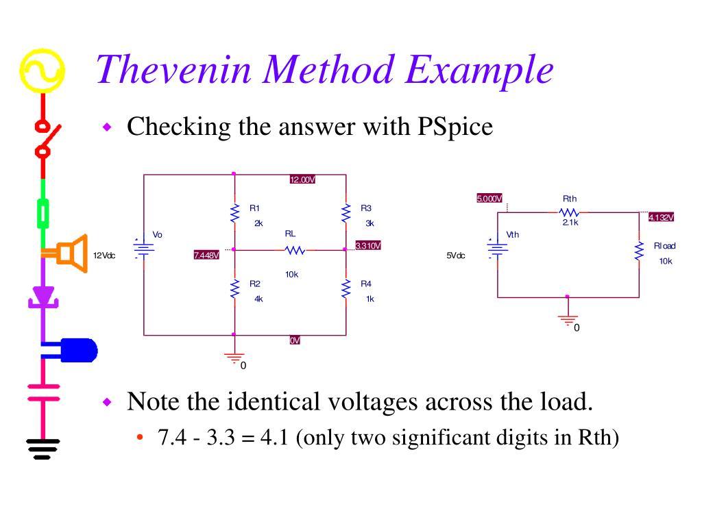 Thevenin Method Example