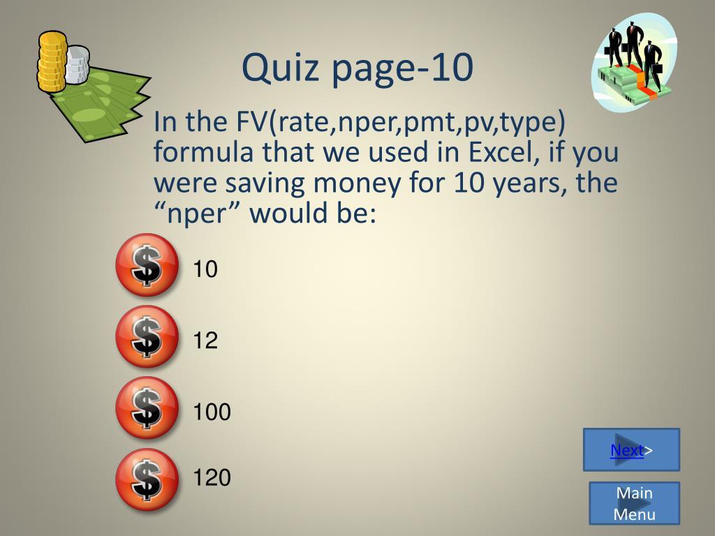 Quiz page-10