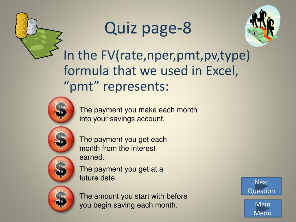 Quiz page-8