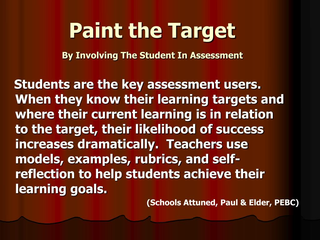 Paint the Target