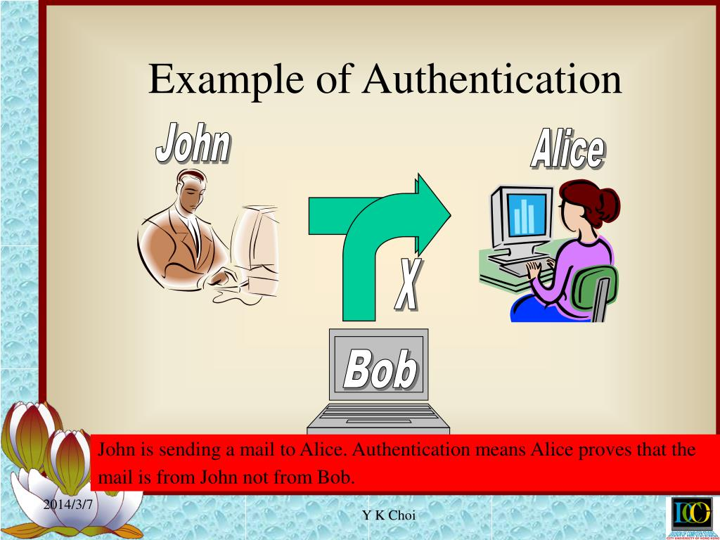 Example of Authentication