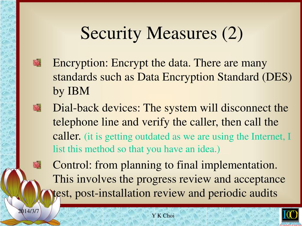 Security Measures (2)