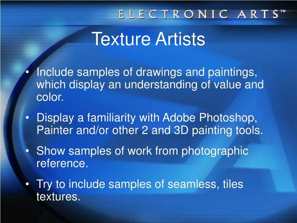 Texture Artists