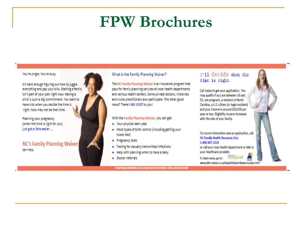 FPW Brochures