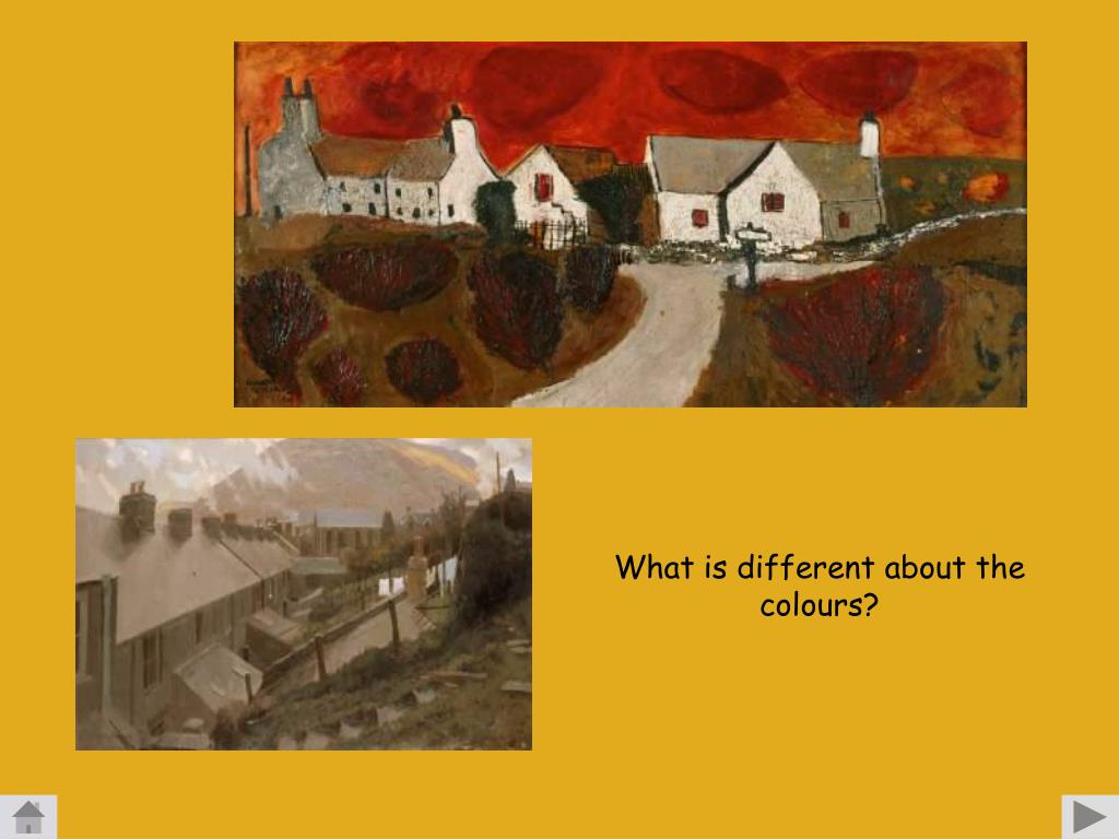 What is different about the colours?