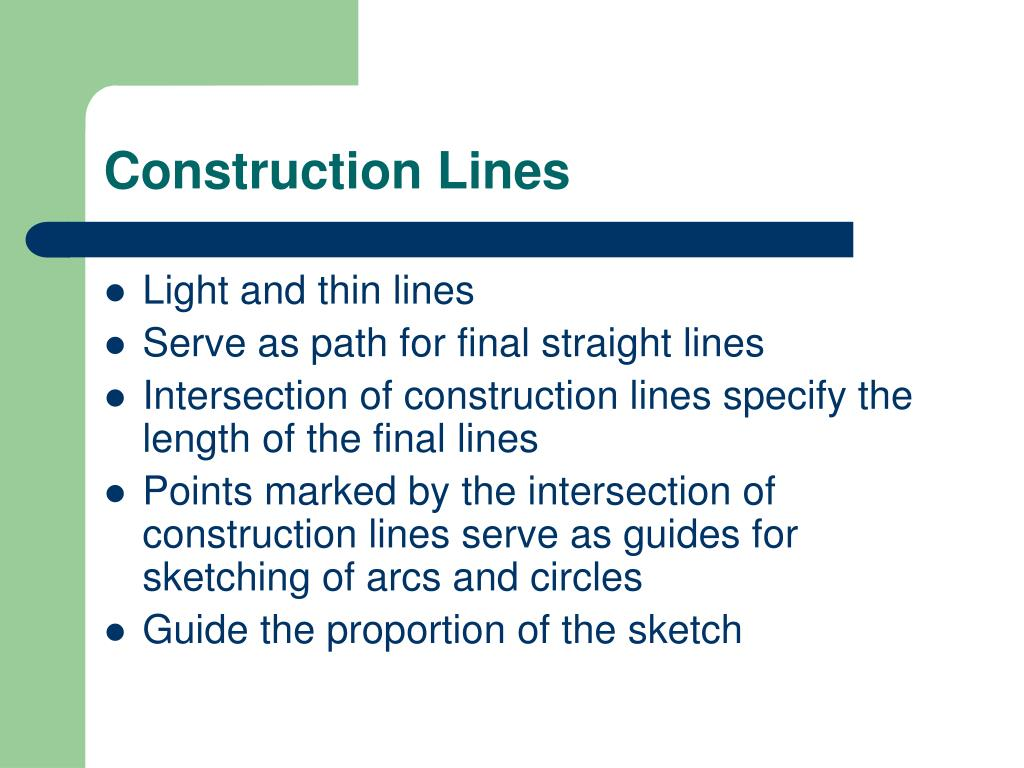 Construction Lines
