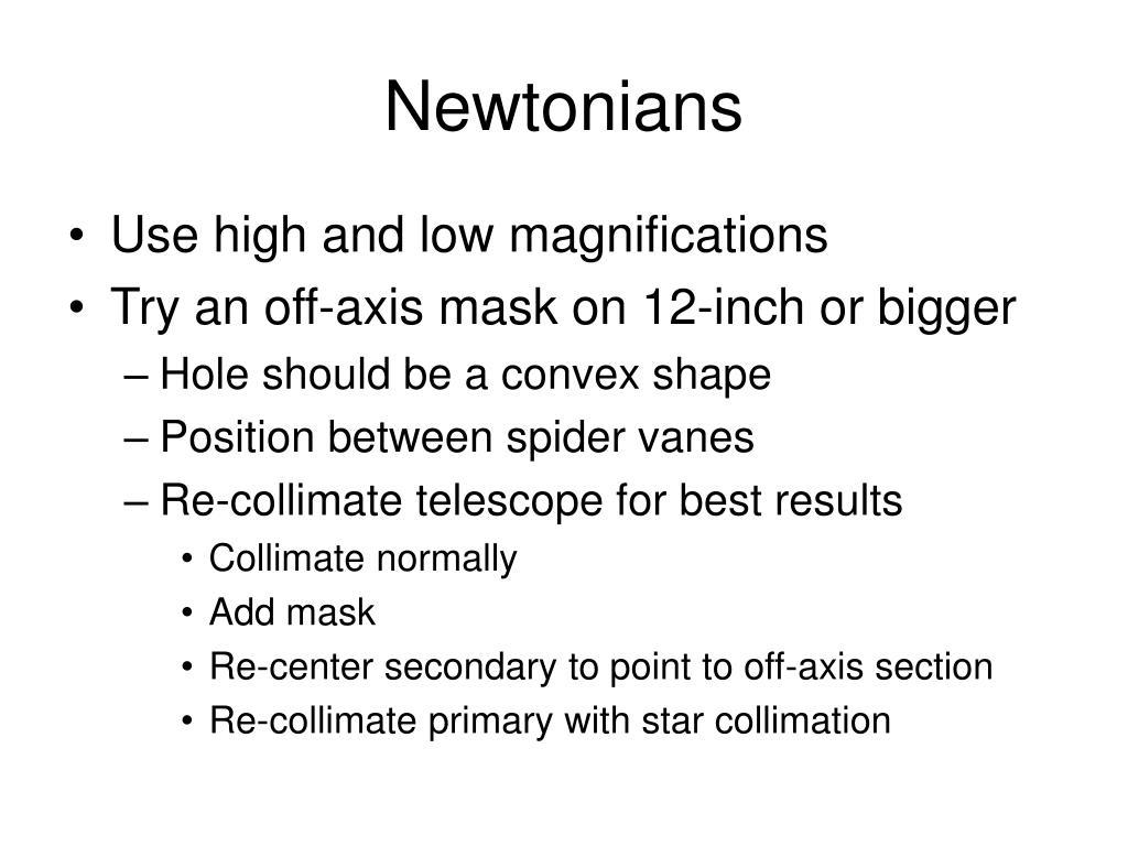 Newtonians