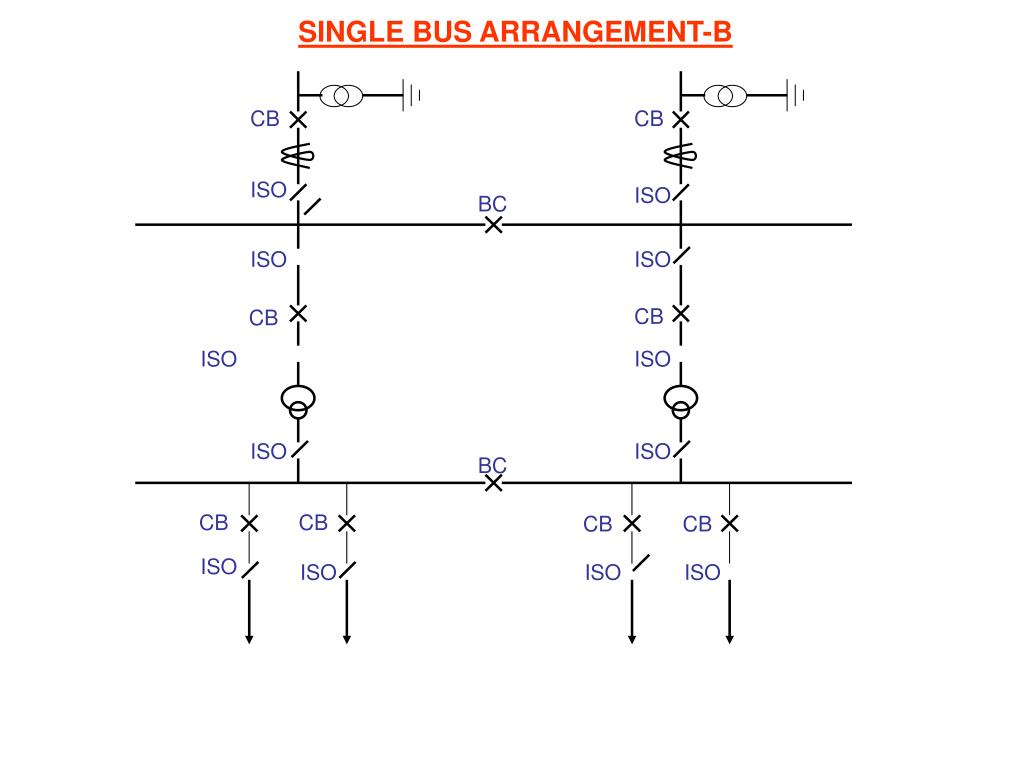SINGLE BUS ARRANGEMENT-B