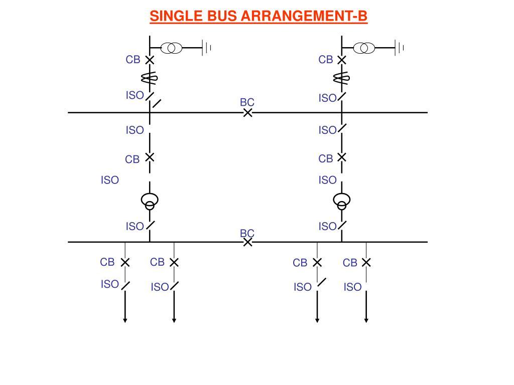 SINGLE BUS ARRANGEMENT-B
