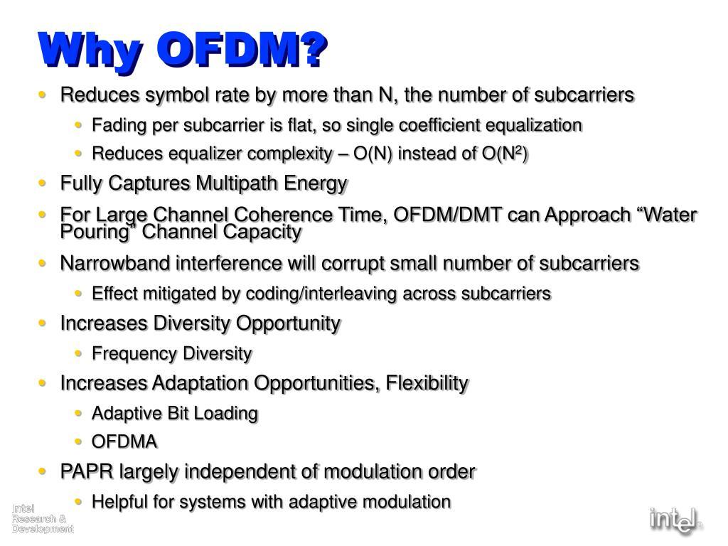 Why OFDM?