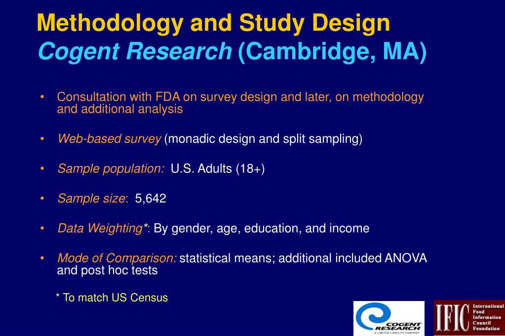 Methodology and Study Design