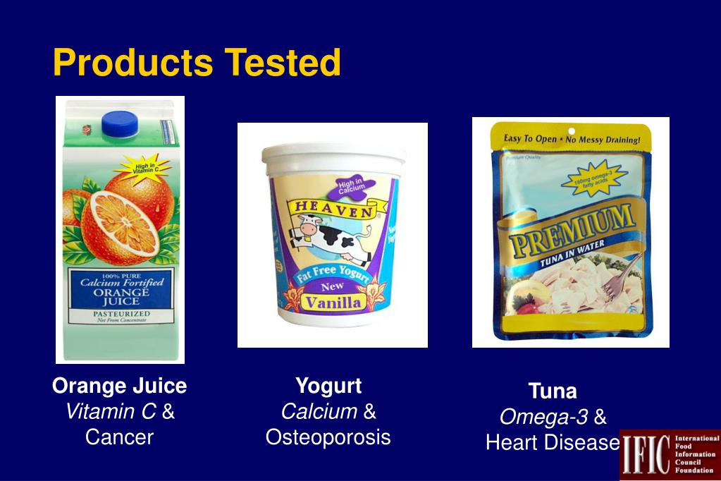 Products Tested