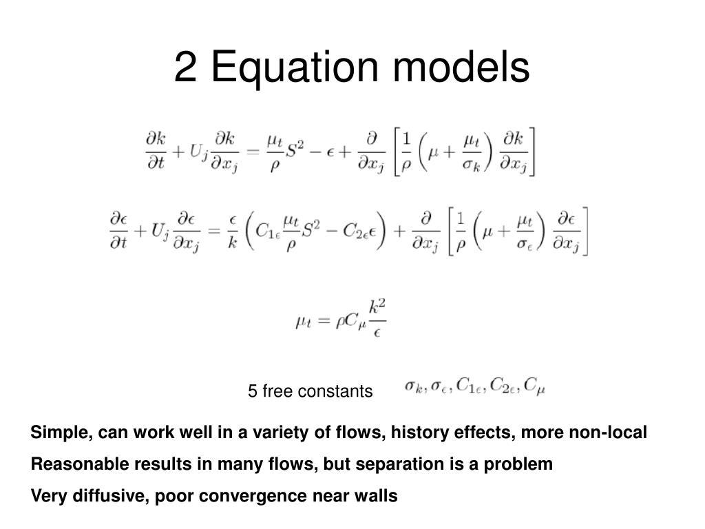 2 Equation models
