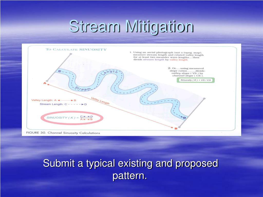 Stream Mitigation