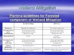 wetland mitigation81