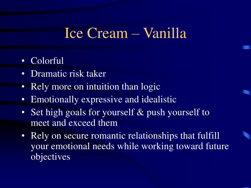 Ice Cream – Vanilla