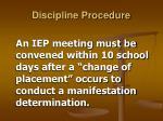 discipline procedure15