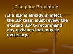 discipline procedure7