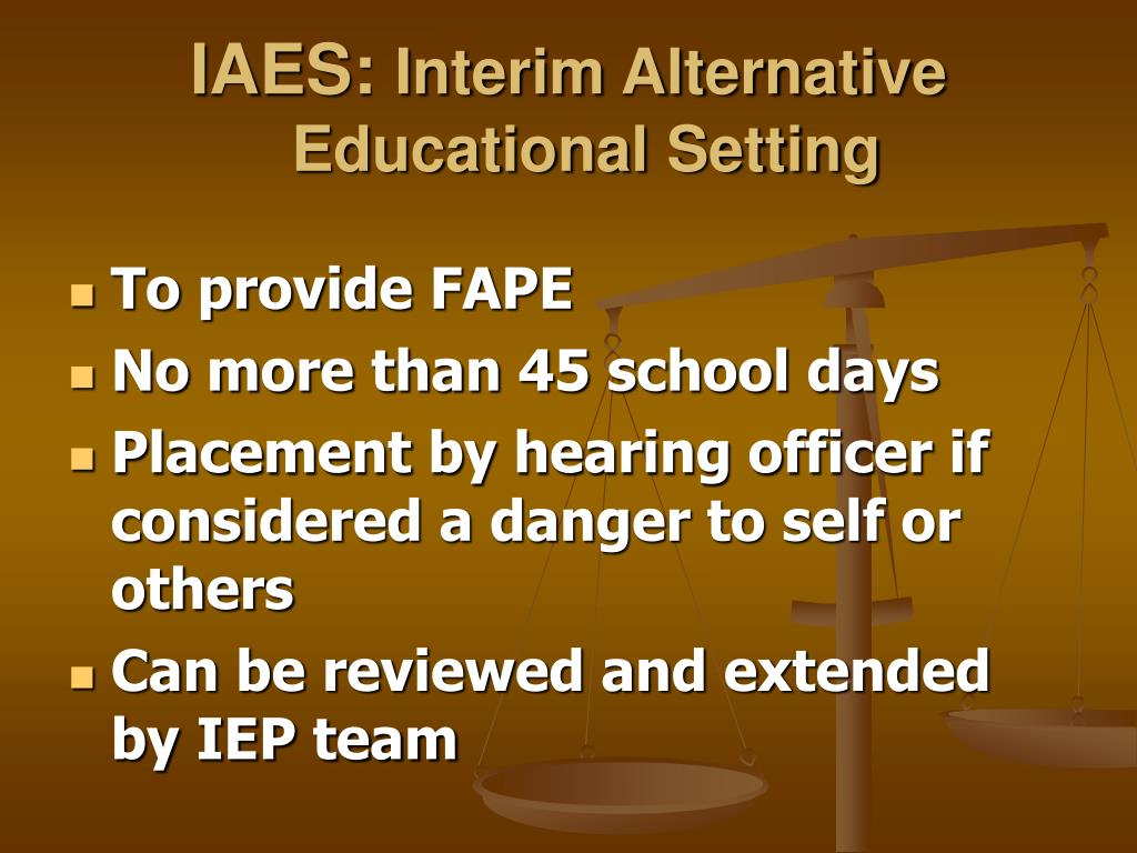 IAES: