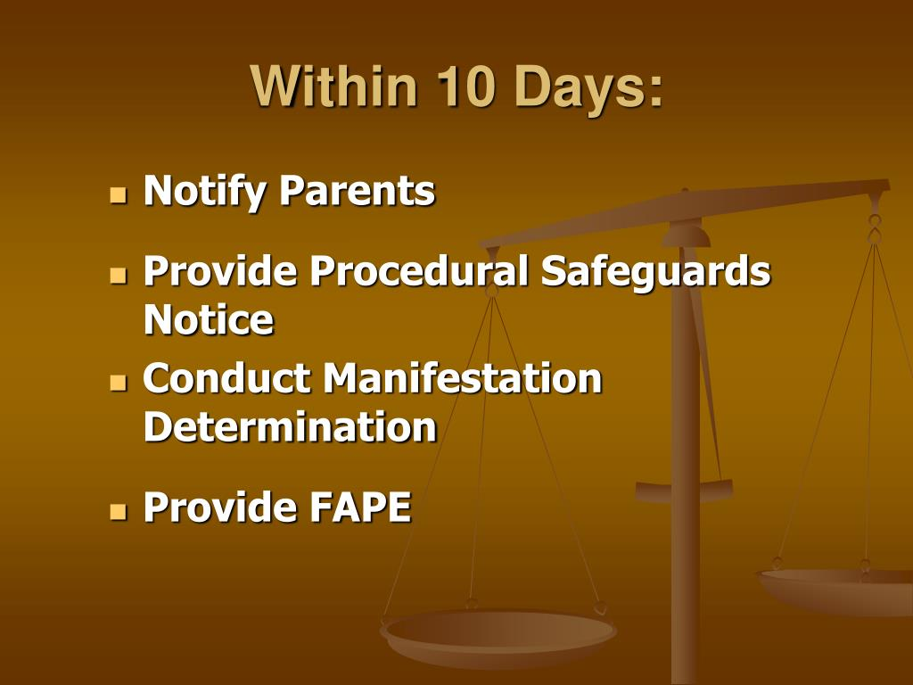 Notify Parents