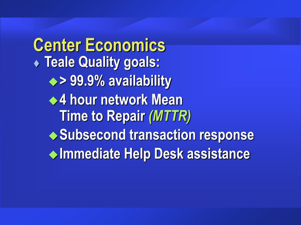 Center Economics