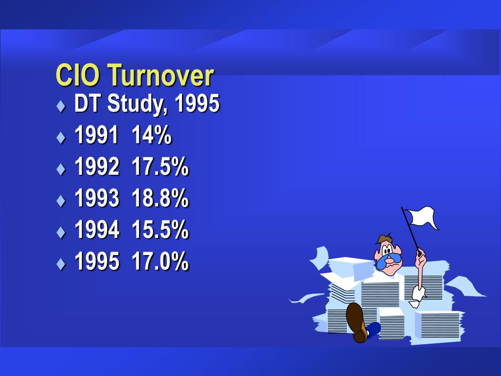 CIO Turnover