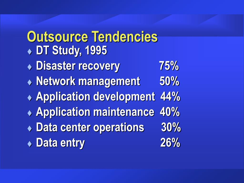 Outsource Tendencies