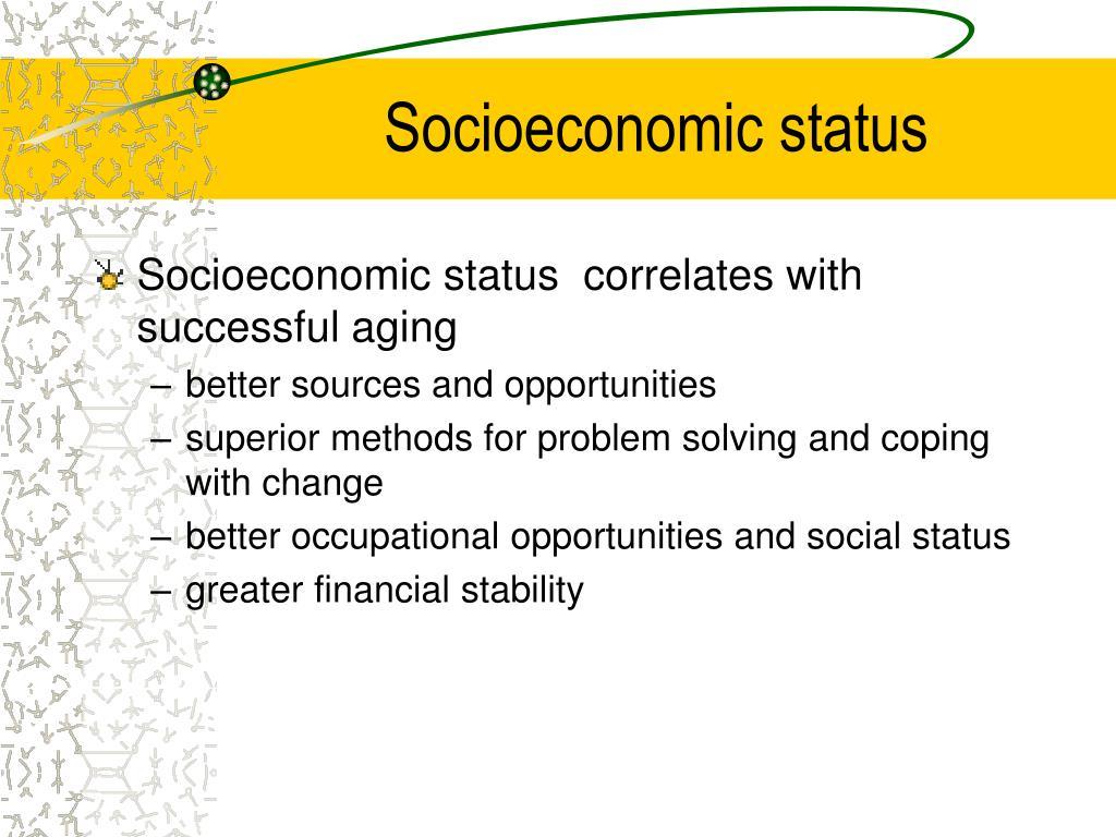 socioeconomic status Cook county department of public health community health status report 2010 demographics and socio-economic status.