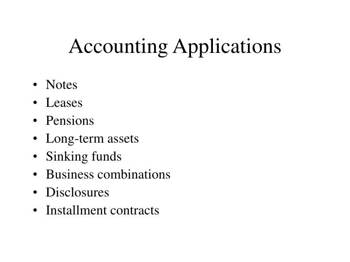 Accounting applications l.jpg