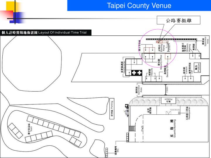 Taipei County Venue